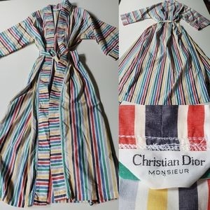 NEW | CHRISTIAN DIOR MONSIEUR | TIE ROBE W/ POCK